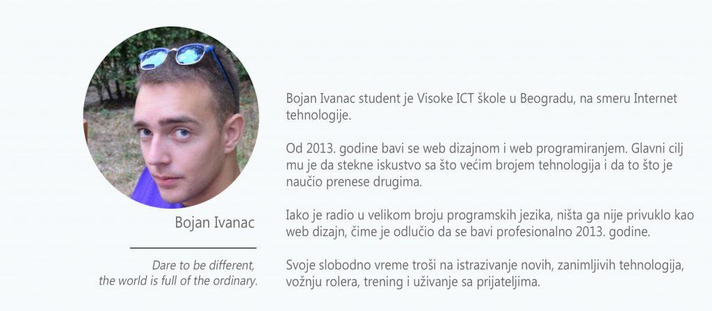 Bojan Ivanac biografija