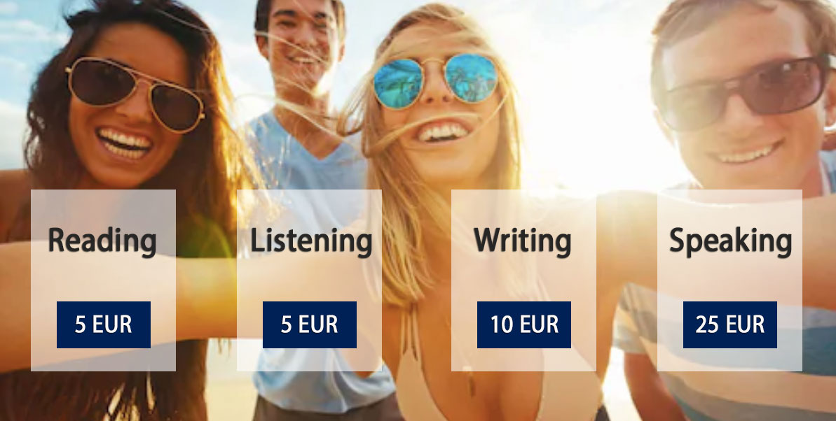 ielts placement test pricing 1