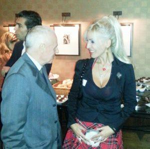 Jasmina Sarić u srdačnom razgovoru sa ambasadorom Nemačke u Beogradu Hajncom Vilhelmom